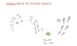 British Empire quizz (English)