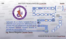 Aplicación de un diseño factorial 23 para la reducción de la