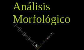Lección 4: Análisis morfológico