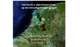 Copy of Roadshow Rotterdam