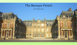 Music in the Baroque Period