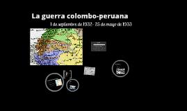 La guerra colombo-peruana