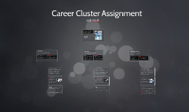 Career Cluster Assignment
