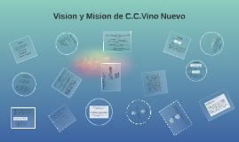 Copy of Vision y Mision de C.C.Vino Nuevo