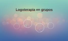 Logoterapia en grupos