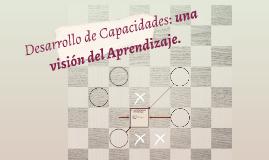 Desarrollo de Capacidades: una visión del Aprendizaje.