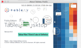 Tableau Video 3 Tutorial 3 años de SimVenture