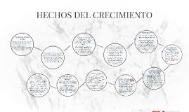 HECHOS DEL CRECIMIENTO
