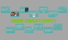 Finding Canada's Identity