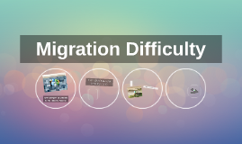 Migration Difficulty