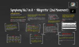 Symphony No.7 in A - 'Allegretto' (2nd Movement)