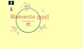 Memento mori FINAL VERSION