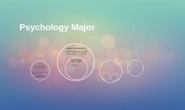 Copy of Psychology Major