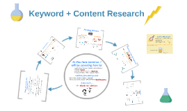 Keyword + Content Research