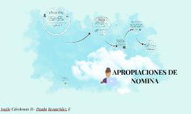 APROPIACIONES