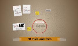 Of mice an men