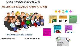 TALLER DE ESCUELA PARA PADRES