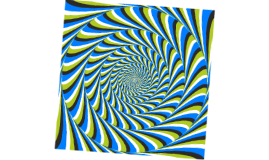 Dizzy Prezi, illusion