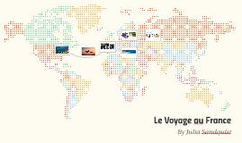 Le Voyage au France
