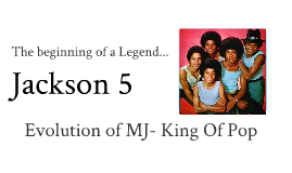 The birth of Jackson 5