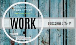 Devotion - Colossians 3:23-24