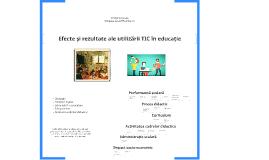 Efecte și rezultate ale utilizării TIC în educație