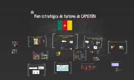Plan estratégico de turismo de CAMERÚN