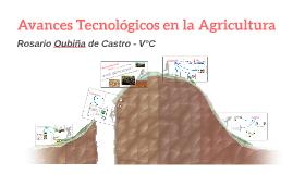 TP. 5 Avances Tecnológicos en la Agricultura