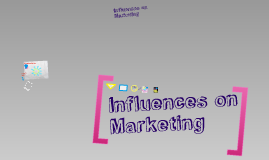 !Wk4: Influences on Marketing