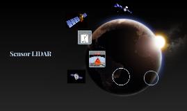 Sensor LIDAR