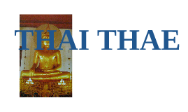 timeline thaithae