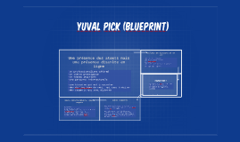 Yuval Pick (blueprint)