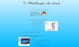5. Modelação de sinais