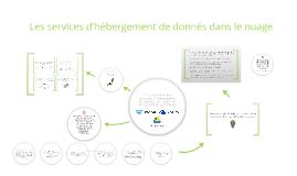 Copy of Les services d'hébergement de donnés dans le nuage
