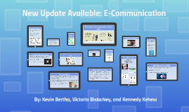 New Update Available: E-Communication