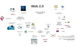 Web 2.0. Mapa mental.