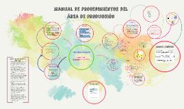 Copy of Manual de Procedimientos del área de producción