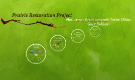 Prairie Restoration Project