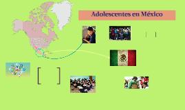 Adolescentes en México