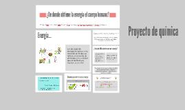 Proyecto de química