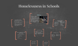 Homelessness in Schools