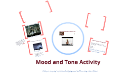 Mood/Tone Activity (Revised)