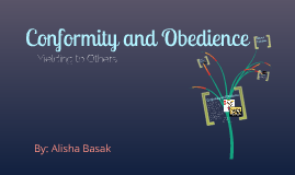 what is the relationship between conformity and obedience During the years 1960-1963 stanley milgram carried out some experiments on obedience while working in the  when the relationship between subject and.