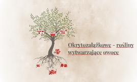 Okrytozalążkowe - rośliny wytwarzające owoce