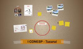 I CONESP - Tucuruí