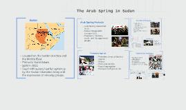 The Arab Spring in Sudan