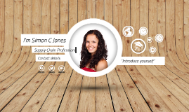 Free Template - A few things about me by Simon Jones