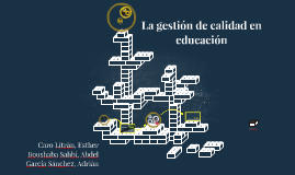 La gestión de calidad en educación