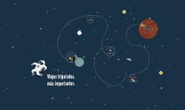 Viajes tripulados al espacio exterior