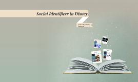 Social Identifiers portrayed in Disney